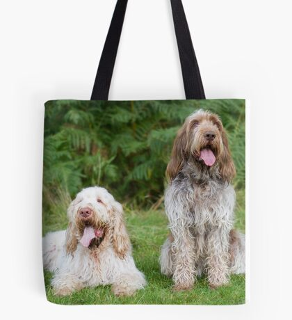 Italian Spinoni  Dogs ~ Annabelle and Thane  Tote Bag
