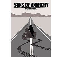 Sons of Anarchy Minimalist work Photographic Print