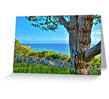 Southern California Coastline Greeting Card