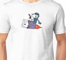 Dogdog and Friend explore space Unisex T-Shirt