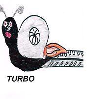Turbo Snail by boostedartwork