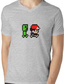 Creepin' on Ash Mens V-Neck T-Shirt