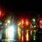 Lights on A Rainy Night