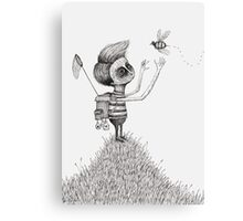 The Bug Collector Canvas Print