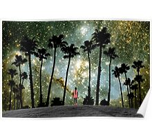 Paradise Galaxy Dream Poster