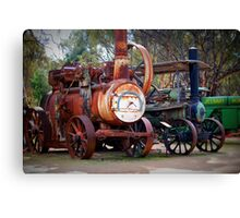 Wonderful Retirees Canvas Print