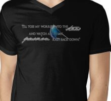 """Toss my worries into the stars"" Mens V-Neck T-Shirt"