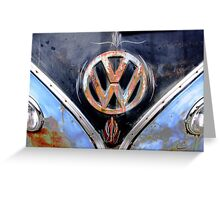Volkswagen Logo I Greeting Card