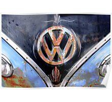 Volkswagen Logo I Poster