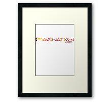 Imagination - Autumn Flowers Framed Print