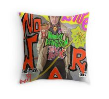 Make Love no War !!!  Tribute to Peace and Freedom. God bless Europe & Culture. Throw Pillow