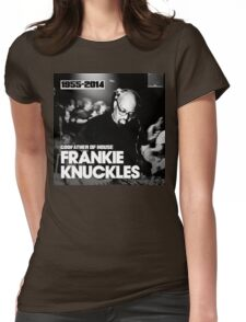 FRANKIE KNUCKLES RIP Womens Fitted T-Shirt