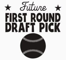 Future First Round Draft Pick Baseball One Piece - Short Sleeve