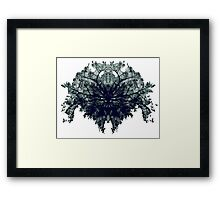 Abstract symetry pattern Framed Print