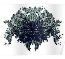 Abstract symetry pattern Poster