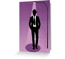 Night Watchmen  Greeting Card