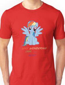 Rainbow Dash Wants A Hug Unisex T-Shirt