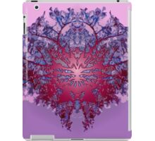 Abstract symetry plastified iPad Case/Skin