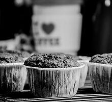 Cupcake - I Love Coffe by Vladimir Gatara