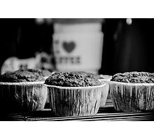 Cupcake - I Love Coffe Photographic Print