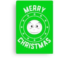 Snowy's Merry Christmas Logo Canvas Print