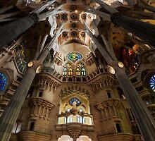 La Sagrada Familia Interior by Andrew Dickman