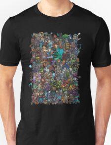 Dota 2 all heroes  T-Shirt