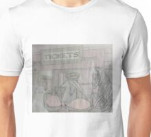 Getting Tickets For The Train Unisex T-Shirt