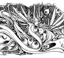 Maleficent art work by gigaillustrator