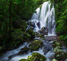 Chalahn Falls, Lamington NP by McguiganVisuals