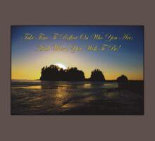 james island, wa & reflection Baby Tee