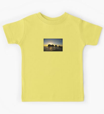 james island, wa & reflection Kids Tee
