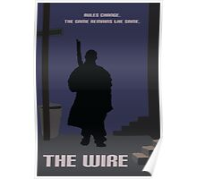 The Wire minimalist work Poster