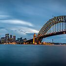 Sydney Harbour Blues by Chris Brunton