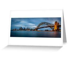 Sydney Harbour Blues Greeting Card