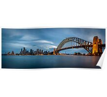 Sydney Harbour Blues Poster