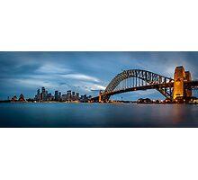 Sydney Harbour Blues Photographic Print