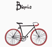illustration of  vintage bicycle by OlgaBerlet