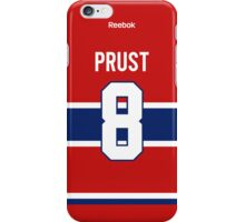 Montreal Canadiens Brandon Prust Jersey Back Phone Case iPhone Case/Skin