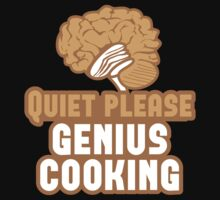 Quiet please Genius Cooking! with brain by jazzydevil