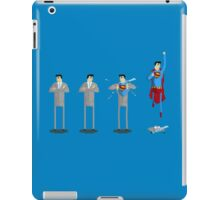 Look up in the sky! iPad Case/Skin