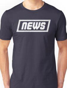 News White - Fontline Unisex T-Shirt
