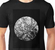 B&W Trees Unisex T-Shirt