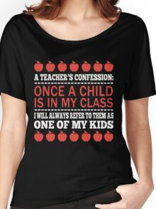 A Teacher's Confession Women's Relaxed Fit T-Shirt