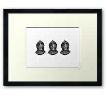 The Knight III Framed Print