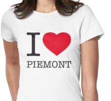 I ♥ PIEMONT Womens Fitted T-Shirt