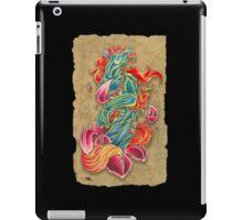 Embrace of flowers iPad Case/Skin