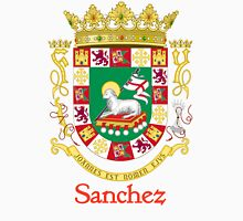 Sanchez Shield of Puerto Rico Unisex T-Shirt