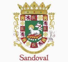 Sandoval Shield of Puerto Rico by William Martin