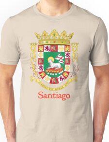 Santiago Shield of Puerto Rico Unisex T-Shirt